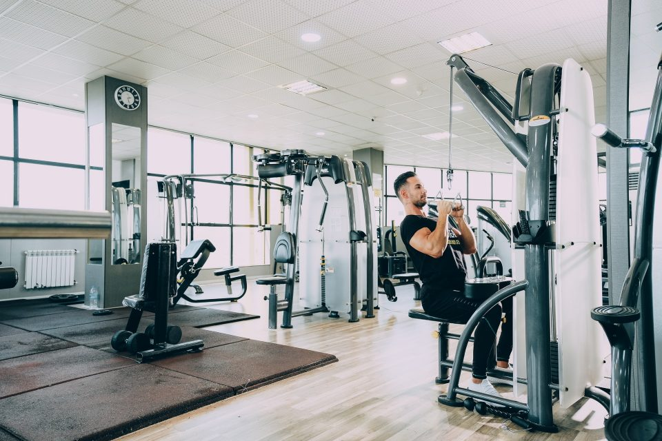 a gym as a symbol of how to safely move sports equipment