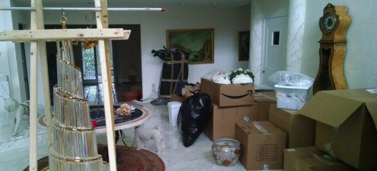 items that residential movers New York have packed