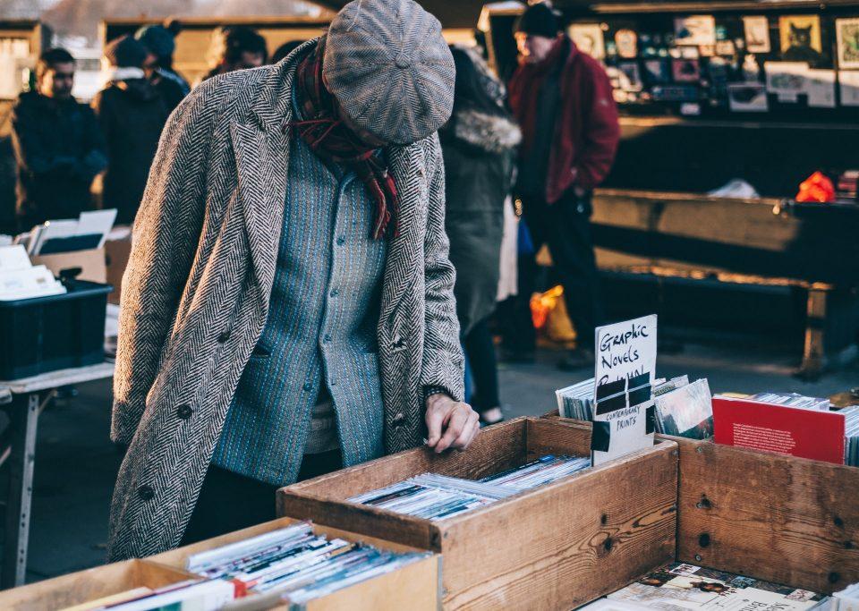 Man set to organize a garage sale